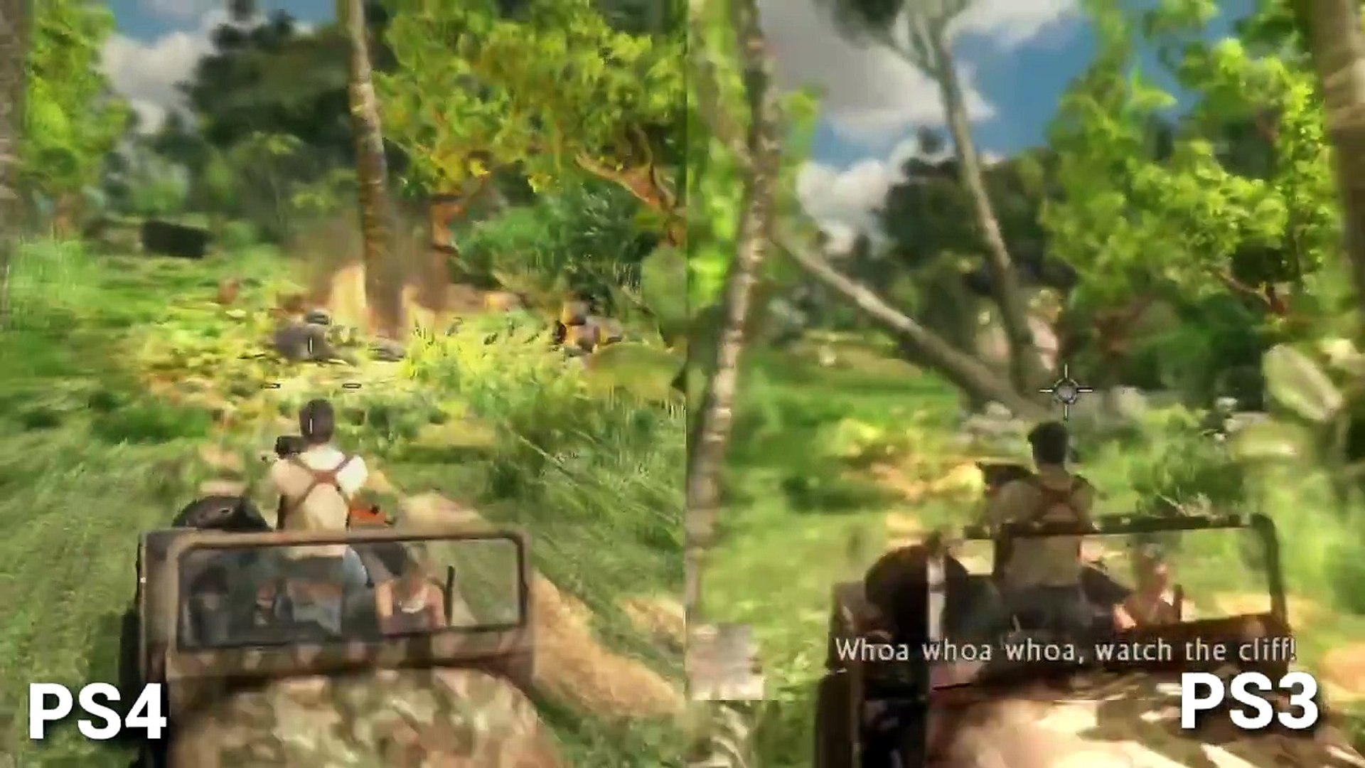 Uncharted Nathan Drake Collection Ps3 Vs Ps4 Graphics Comparison