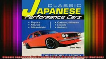 READ THE NEW BOOK   Classic Japanese Performance Cars History  Legacy Cartech  FREE BOOOK ONLINE