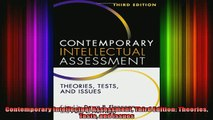 READ book  Contemporary Intellectual Assessment Third Edition Theories Tests and Issues Full Free