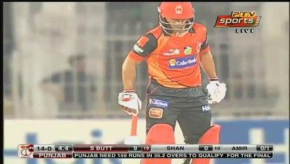 Mohammad Amir Bowling vs Salman Butt (Pakistan Cup)