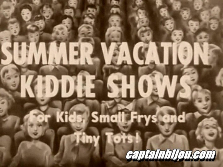 1950 SUMMER MOVIE KID SHOW PROMO
