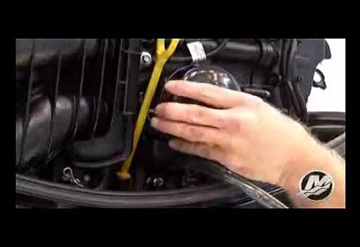Mercury 150hp FourStroke Oil Change Procedure