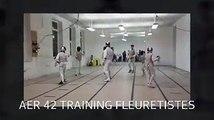 AER 42 Escrime Roanne Entrainement Fleuret 12.2014