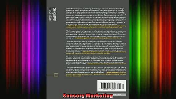 READ book  Sensory Marketing Full EBook