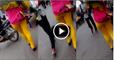 women in bazzar during shopping