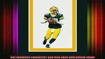 new release  NFL Biggshots Bedding  Green Bay Packers Aaron Rodgers Comforter Set Full