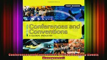 Downlaod Full PDF Free  Conferences and Conventions A Global Industry Events Management Full Free