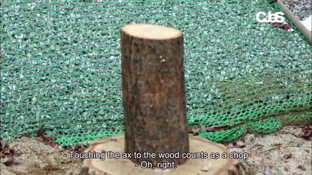 [ENG SUB] JYJ Fruitful Trip Ep. 2 JYJs Thor Undercover! Head to Head, Chopping Firewood