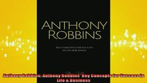Free PDF Downlaod  Anthony Robbins Anthony Robbins Key Concepts for Success in Life  Business  BOOK ONLINE