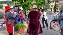 1er mai pluvieux à Cabris mais 1er mai joyeux grâce à la fanfare 12°5