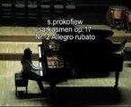 No. 2 Allegro rubato / Sarkasmen op. 17 / Ariana Krasniqi   Sergei Prokofiev: Sarcasm, Op 17, Allegro rubato-Piu mosso    Сергеевич Прокофьев, Сарказма № 2: Allegro Rubato