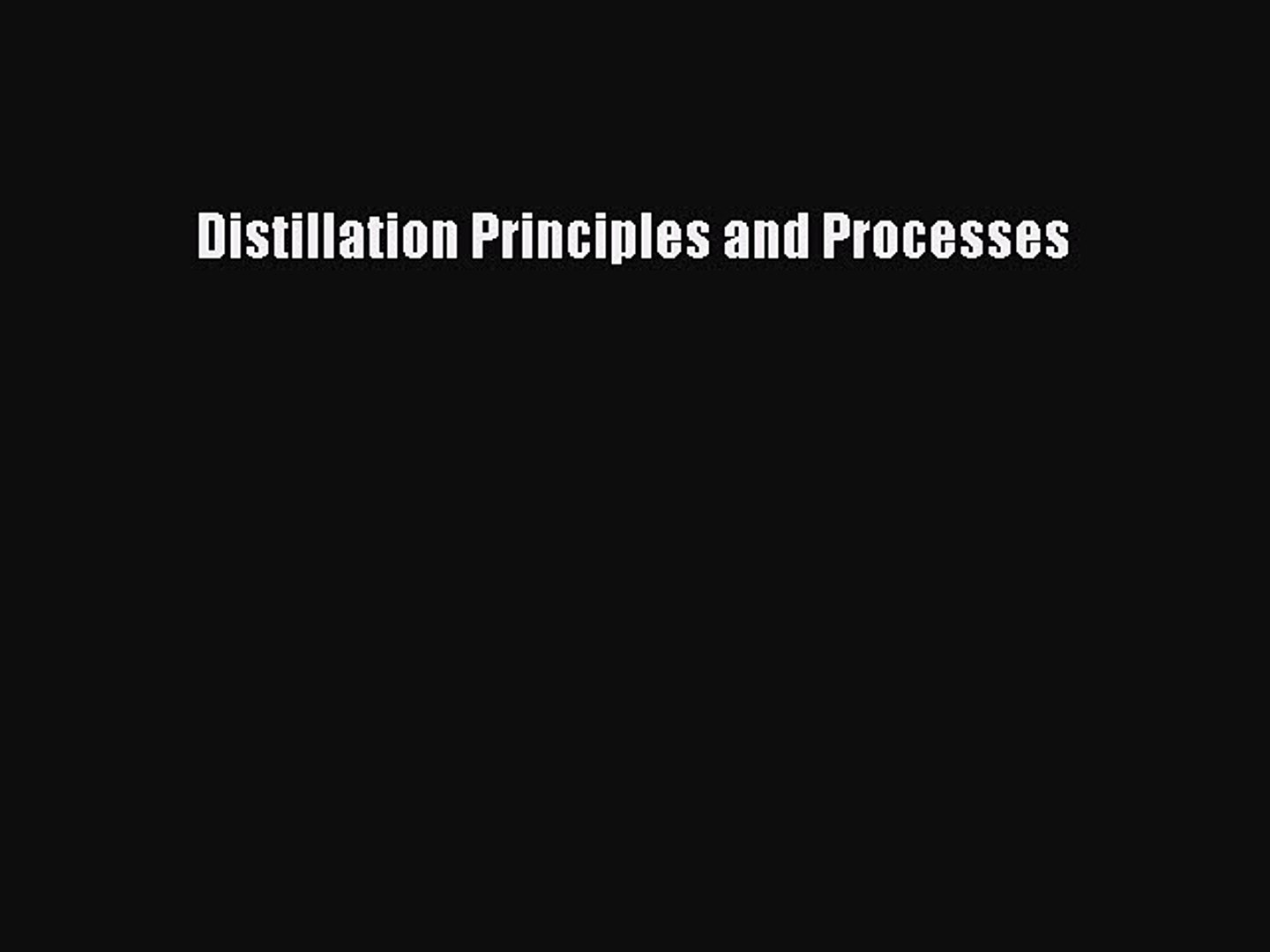 General Principles, Applications