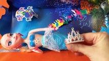 Frozen Sereia - Elsa Disney - brinquedos play doh kids toys