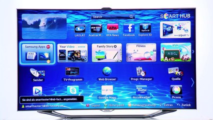 Samsung SMART TV Samsung Apps [How To Video]