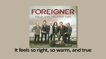 Foreigner - Waiting For A Girl Like You (Official Lyric Video)