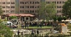 Gaziantep Emniyet Müdürlüğü Önünde Patlama! 6'sı Polis 9 Yaralı