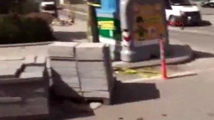 Emniyet Müdürlüğü'ne terörist saldırısı 6'sı polis 9 yaralı