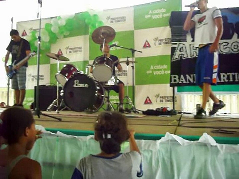 BANDA ARTIGO 27  POP SHOW EM TIMOTEO ''' 2010 ''' A SUA MANEIRA DA BAN