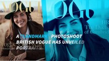 Kate Middleton Poses for British Vogue in First-Ever Fashion Shoot