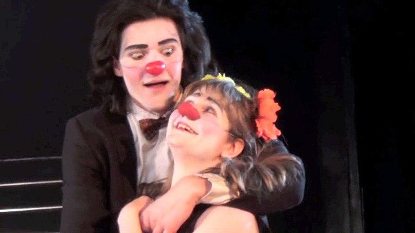 Roméo et Juliette clown