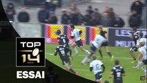 TOP 14 – Agen– Brive: 37-19 Essai de Mathieu LAMOULIE (AGE) – J22 - Saison 2015-2016