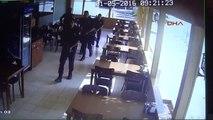 Gaziantep Emniyet Müdürlüğü'ne Terörist Saldırısı 6'sı Polis 9 Yaralı -Güvenlik Kamerası