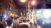 وصول الشعلة المقدسة الآتية من كنيسة القيامة في القدس الى لبنان