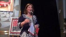 Mélanie Savoie à La couleur des mots - poésie - 2016-04-30 à la BBAM! Gallery / galerie bbam