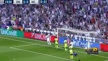 ---اهداف مباراة ريال مدريد ومانشستر سيتي- جميع المعلقين ابطال اوروبا 2016 [4-5-2016