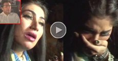 Qandeel baloch Crying, What she said about Imran Khan after she stopped outside Jalsa in Lahore