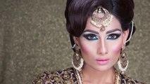 Royal Blue Bridal Makeup ,Indian Weddings, Indian Brides, Indian Outfits, Indian Bridal Makeup, Asian Bridal, Indian Fashion, Indian Makeup, Indian Wedding Makeup, Indian Bridal