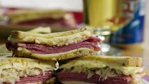 Grilled Reuben Sandwich Recipe - How to Make a Grilled Reuben Sandwich