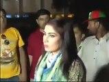 Qandeel Baloch Crying in Imran Khan Jalsa