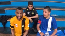 VIBREZ ! Prime Interviews, après la rencontre Douai Gayant & FC Picasso, Echirolles ! Le 30 avril 2016 ..