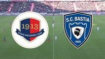 Le résumé du match SMCaen - SC Bastia