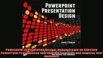 READ book  Powerpoint Presentation Design How to Create an Effective PowerPoint Presentation that  BOOK ONLINE