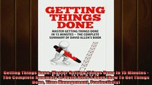 READ book  Getting Things Done Master Getting Things Done In 15 Minutes  The Complete Summary of  DOWNLOAD ONLINE
