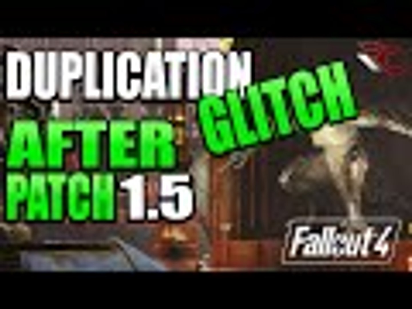 Fallout 4 | BRAND NEW Duplication Glitch/ Exploit After Patch 1 4 & 1 5  (Unlimited Resources)