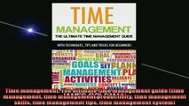 FREE PDF  Time management The ultimate time management guide time management time management  BOOK ONLINE