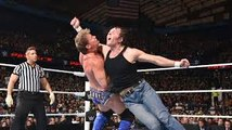 Chris Jericho locks in the Walls of Jericho against Dean Ambrose- WWE Payback 2016 on WWE Network