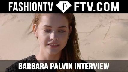 Barbara Palvin Interview on set for Giorgio Armani   FTV.com