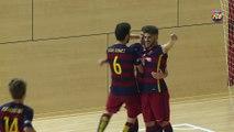 FCB Futbol Sala: Andreu Plaza fa balanç a la temporada del Barça B