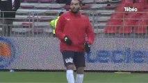 Les coulisses du match Brest - Evian TG