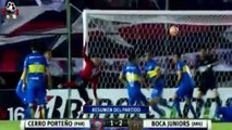 Cerro Porte_o vs Boca Juniors 1-2 RESUMEN COMPLETO GOLES EN Copa Libertadores 2016