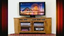 new release  Sunny Designs Sedona 55 in Corner TV Console