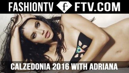 Adriana Lima HOT Bikini Shoot Calzedonia   FTV.com
