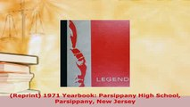 Download  Reprint 1971 Yearbook Parsippany High School Parsippany New Jersey PDF Online
