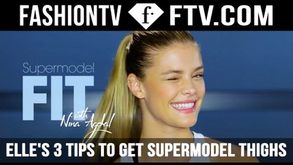 3 Tips For Toned Thighs With Nina Agdal ELLE | FTV.com