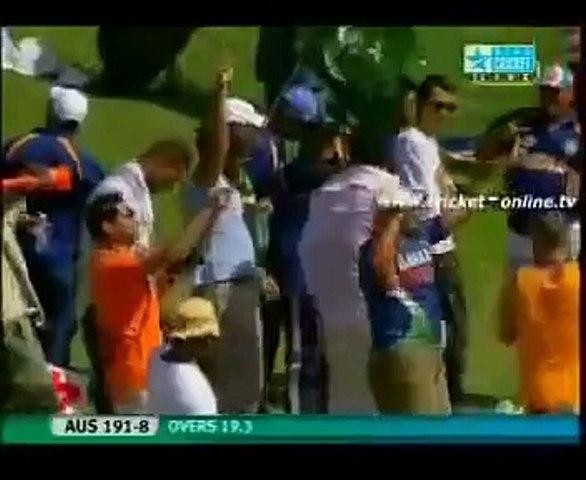 Muhammad Amir 5 wickets in over vs Austrila
