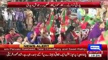 Singer Malku Relaease Song On Panama Leaks Against Nawaz Sharif in lahore PTI Jalsa